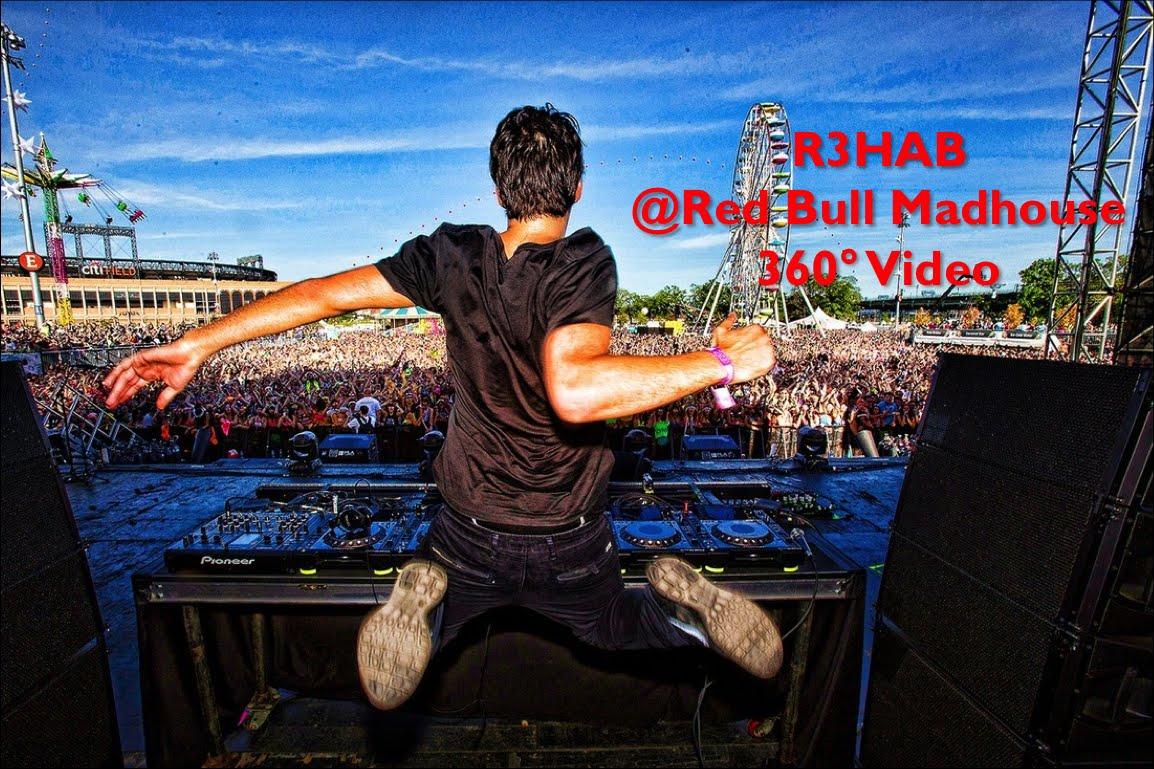 Insta360 Nano: 360° Video of DJ R3HAB Show