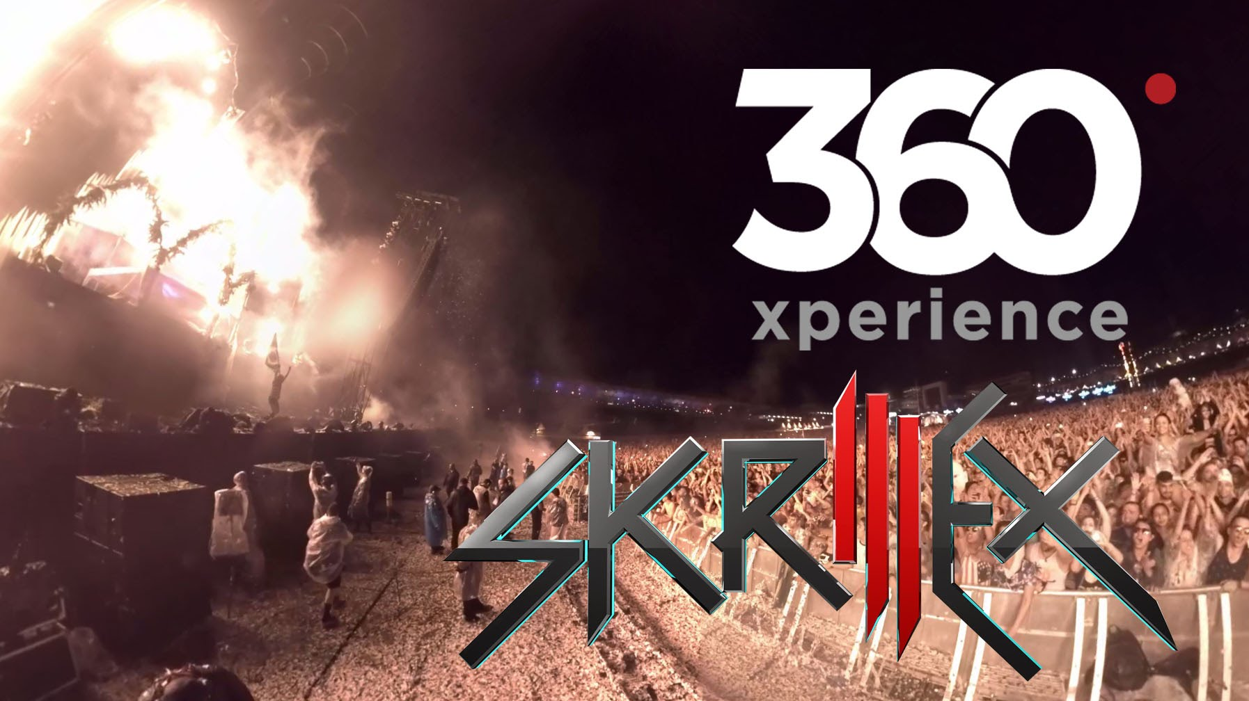 Skrillex Live at Electric Daisy Carnival Brazil