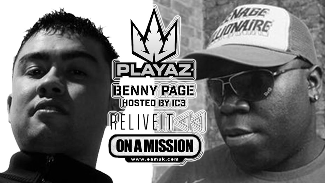PLAYAZ – Benny Page – MC IC3 – On A Mission – 360 VR – 29/04/17